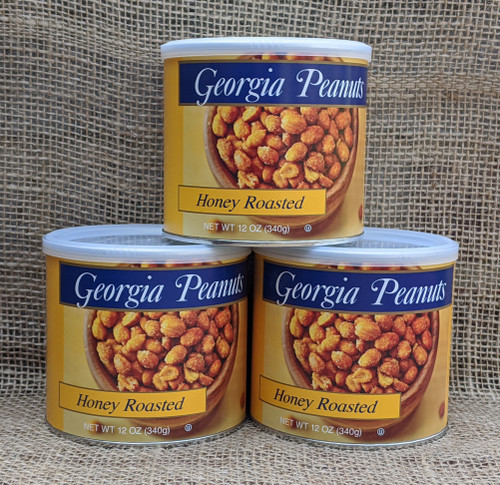 Case of Honey Roasted Peanuts (12 - 12 oz. cans)