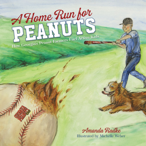 A Home Run for Peanuts book