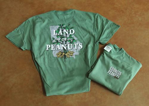 "Georgia Peanuts ""Land of Peanuts"" Safari T-shirt"