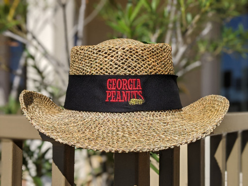 Georgia Peanuts Straw Hat