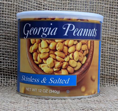 12 oz. Can of Skinless Peanuts