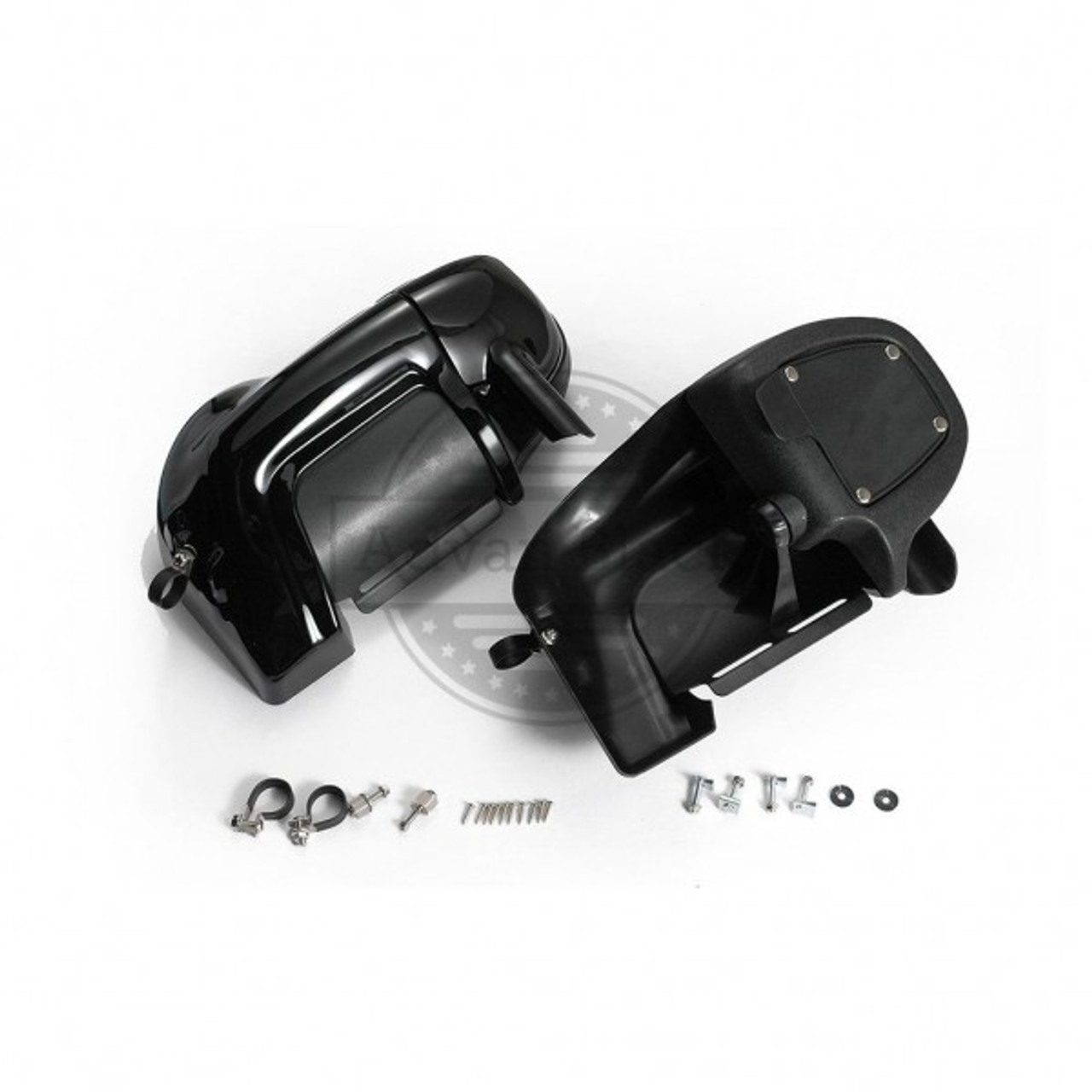 Lower Vented Fairings Mounting hardware Screw Clamps Clips for Harley Davidson Touring 1983-2013