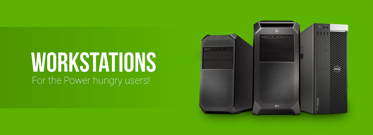 Desktop Workstations | Refurbished HP and Dell | See Our Low