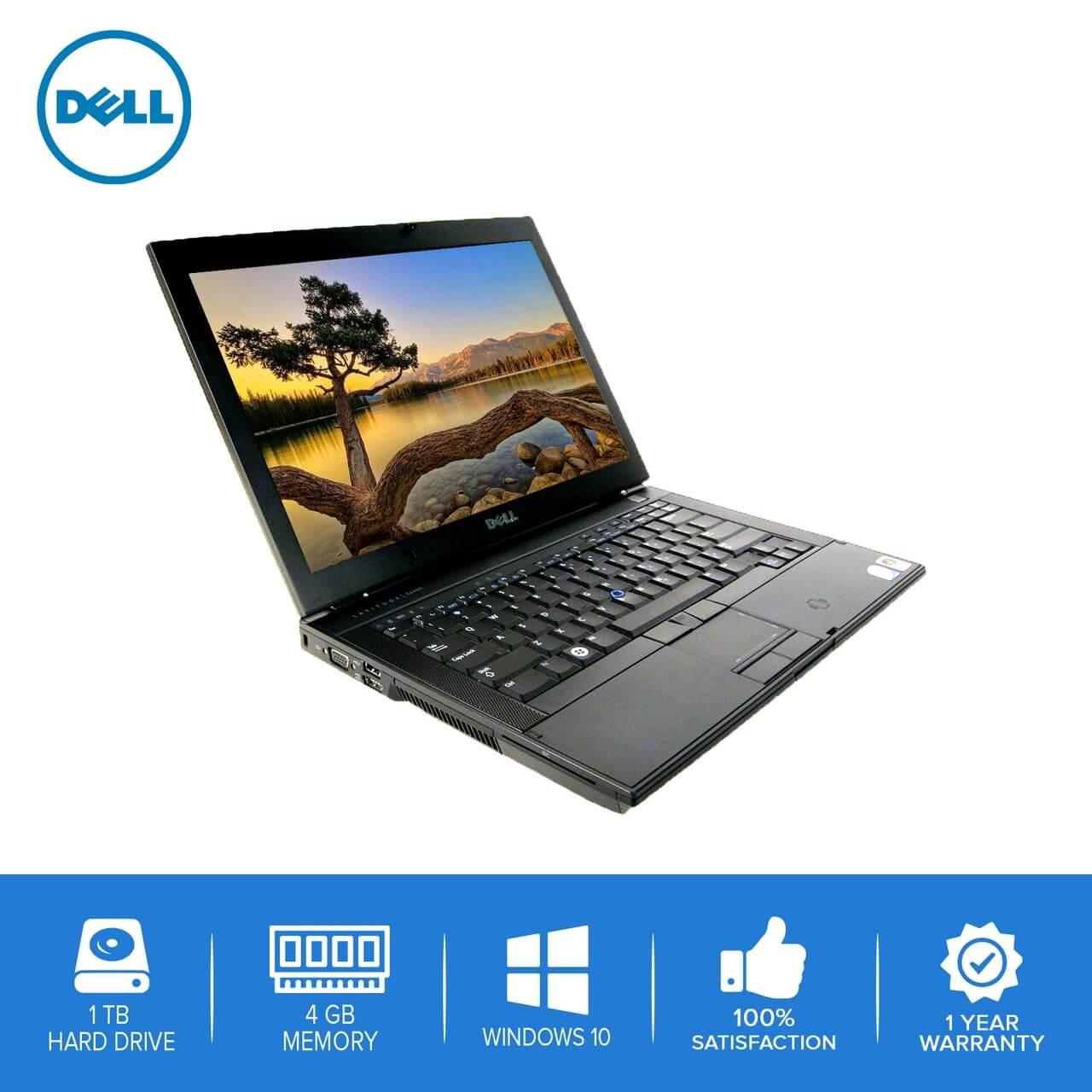 Dell-Latitude E6400 Laptop Notebook – Intel Core 2 Duo- 4GB – 1TB Hard  Drive - Windows 10