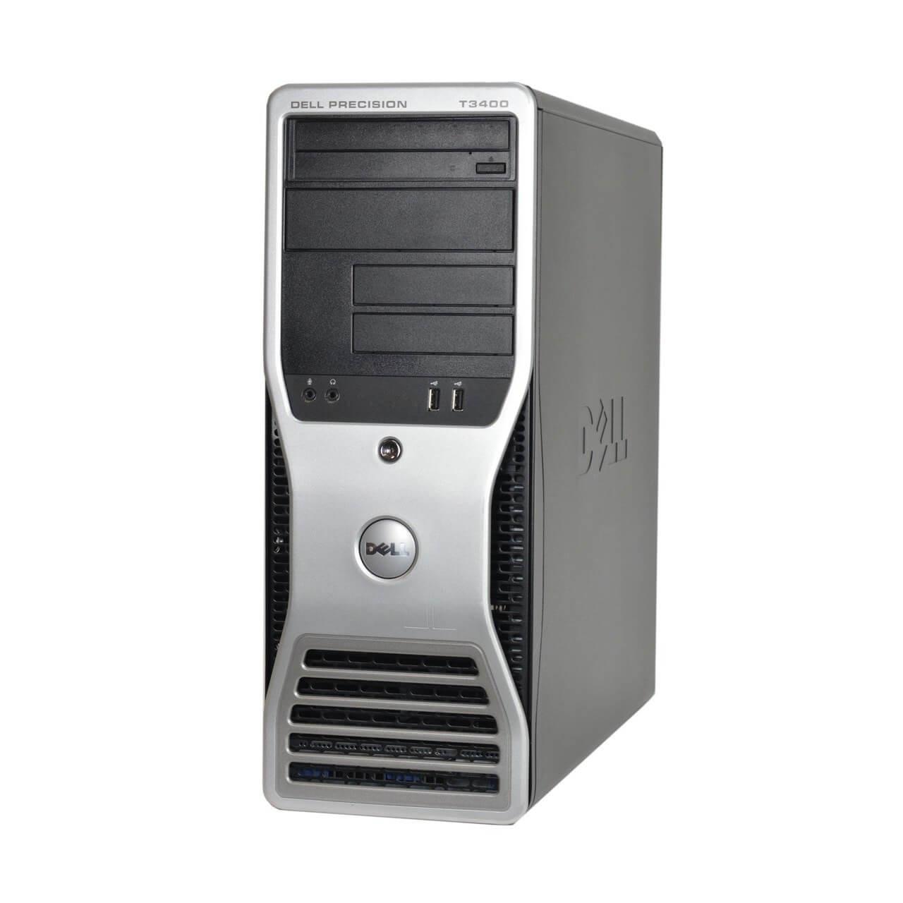 Dell -Precision T3400 Workstation Desktop PC - Intel C2D 2 40 - 4GB Memory  - 500GB Hard Drive- No Windows