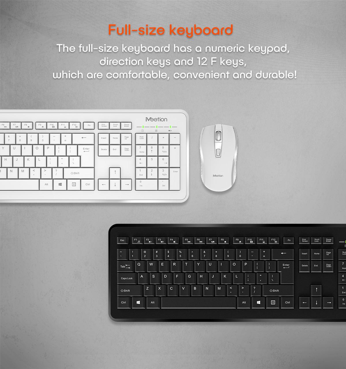 MEETION Wireless Keyboard and Mice Combo