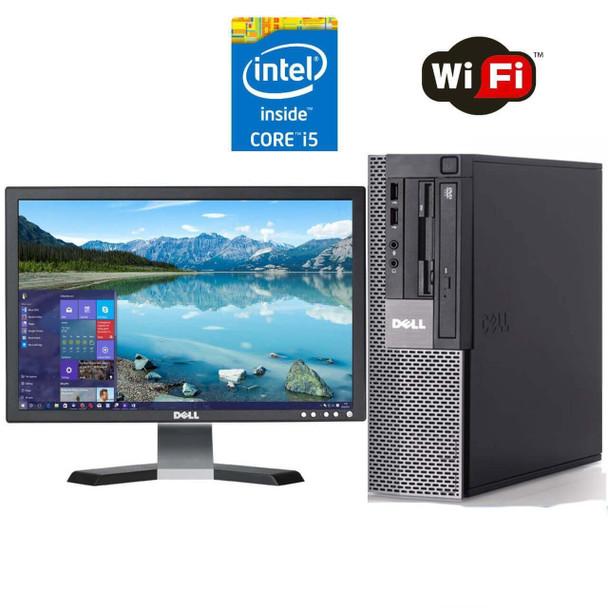 """Dell PC Computer 980 Desktop CORE i5 3.2GHz 8GB 1TB HD Windows 10 w/ 19"""" LCD"""