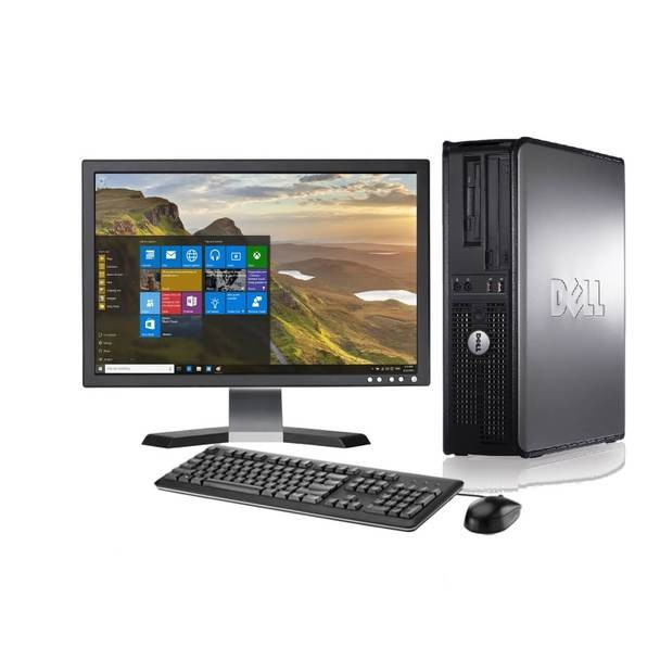 "Dell Desktop with 17"" LCD 4GB Memory 250GB Hard Drive, Desktop Deal"