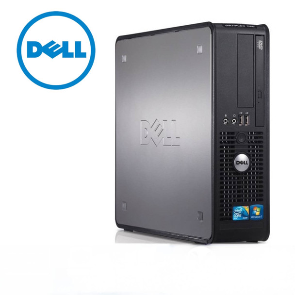 Refurbished Dell Computer - Intel Core 2 Duo - 8GB Memory - 1TB Hard Drive - Windows 10