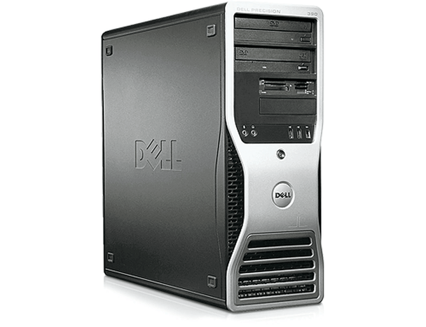 Dell -Precision T390Workstation Desktop PC - Intel C2D 2.66 - 4GB Memory - 250GB Hard Drive- No Windows