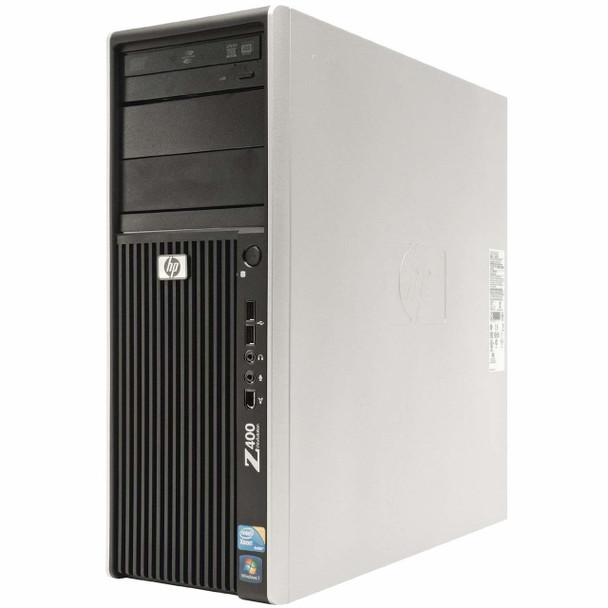 HP -Z400 Workstation Desktop PC - Intel Xeon 2.67 - 4GB Memory - 500GB Hard Drive - No Windows