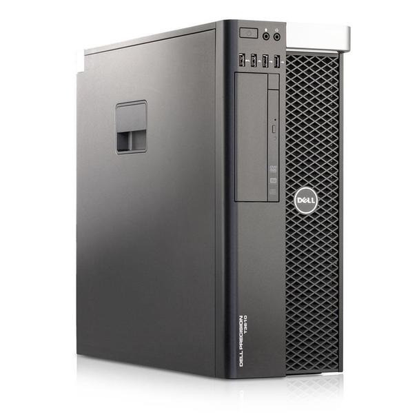 Dell Precision T3610 Workstation Desktop PC Intel Xeon 3.50GHZ 64GB Memory - 1TB Hard Drive - Windows 10