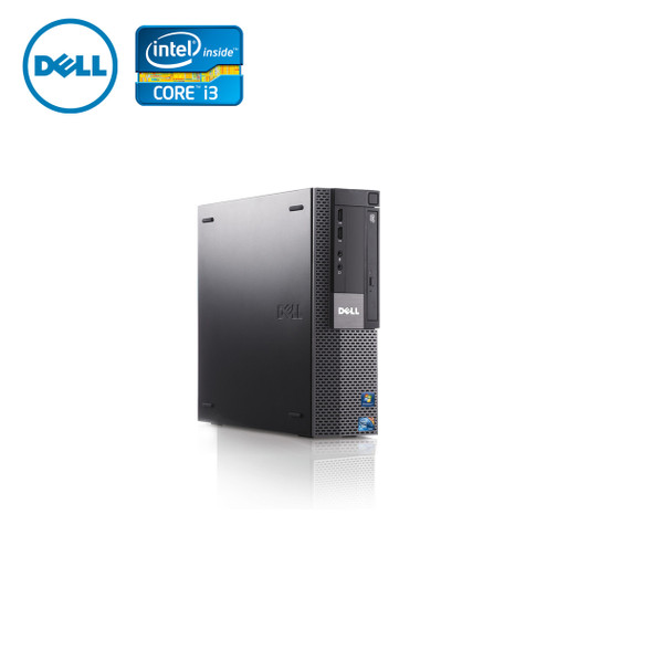 Dell PC Computer Desktop CORE i3 3.0GHz 4GB 128SSD Windows 10