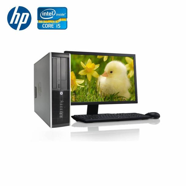 "HP-Elite Desktop 8300 Computer PC – Intel Core i5 - 8GB Memory – 500GB Hard Drive - Windows 10 with 19"" LCD"