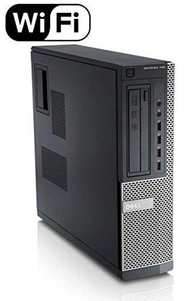 Dell Optiplex 790 Business High Performance DT Desktop Computer PC, Intel Quad Core i5-2400 3.1GHz Processor, 8GB DDR3, 2TB SATA, DVD, Windows 10 Home (Renewed)