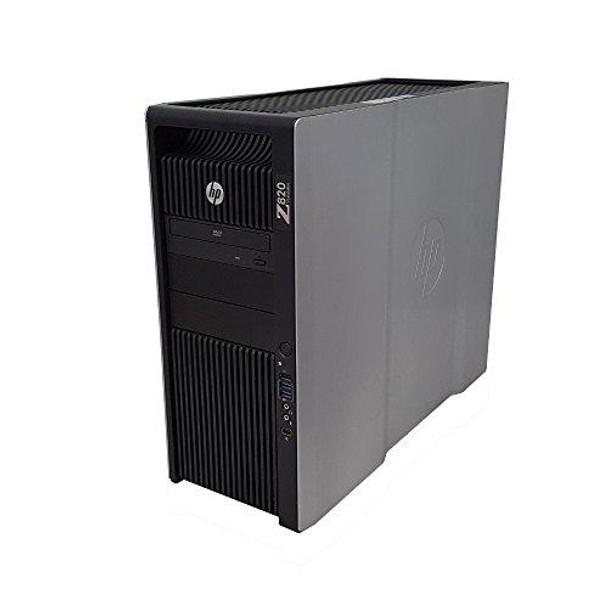 HP Z820 Workstation Intel Xeon 16 Core 2.6GHz 128GB RAM 500GB Solid State Drive + 2TB Hard Drive Dual NVIDIA Quadro FX 3800 Graphics CD/DVDRW Windows 10 Pro 64-bit (Renewed)