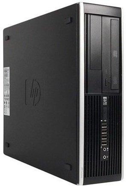 HP 8300 Elite Small Form Factor Desktop Computer, Intel Core i5-3470 3.2GHz Quad-Core, 8GB RAM, 500GB SATA, Windows 10 Pro 64-Bit, USB 3.0, Display Port