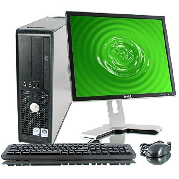 Dell Optiplex 760 with 19 Inch LCD(Brands may vary) (Intel Core 2 Duo 3.0 Ghz, 250GB HDD, New 4GB RAM, New WIFI, Windows 10 Professional - 32BIT)