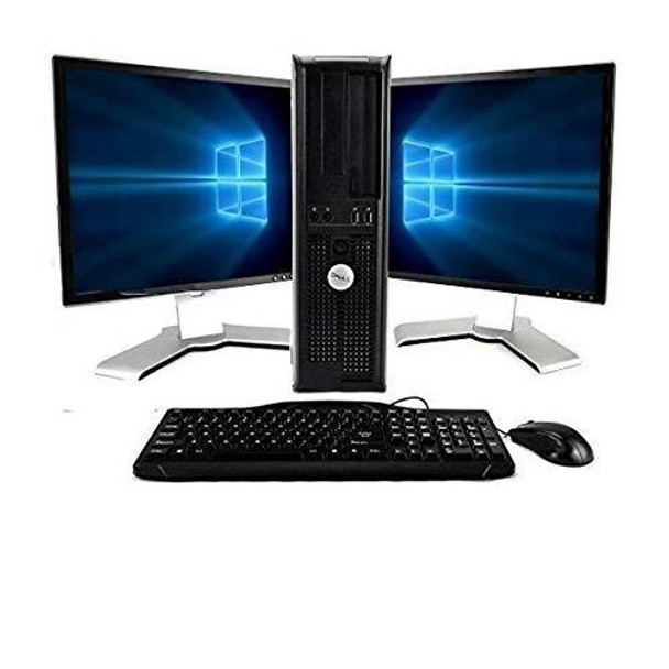 Dell OptiPlex Computer Package Dual Core 3.0,New 8GB RAM, 250GB HDD, Windows 10 Home Edition, Dual 19inch Monitor (Brands may vary)
