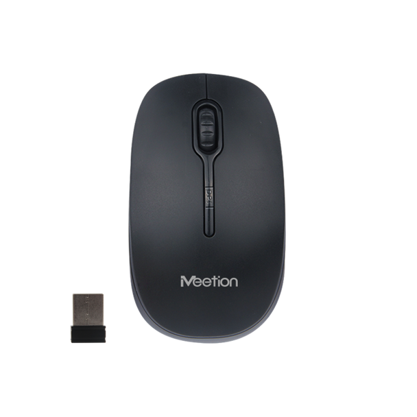 MEETiON 2.4G Wireless Optical Mouse, Soft Touch, Energy Saving, DPI Resolution Switch MT-R547