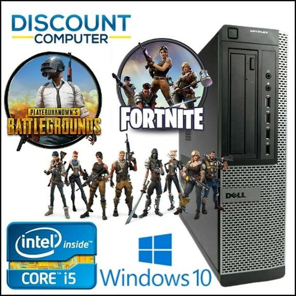 Gaming PC Desktop Computer i5 16GB 128GB SSD+2TB HD8570 Win10 WIFI