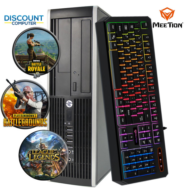 HP Gaming Desktop Core i5 Computer 8GB 500GB HDD Nvidia GT1030 HDMI Win 10