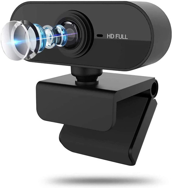 Webcam HD Web Camera Built-in Microphone Auto Focus 90 ° Angle Of View Webcam Full