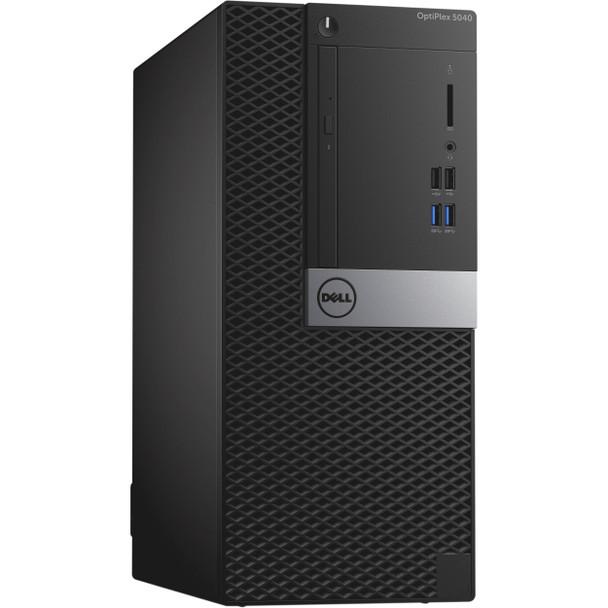 Dell Optiplex 5040 Mini Tower, Core i7-6700 3.4GHz, 8GB RAM, 256GB Solid State Drive, DVDRW, Windows 10