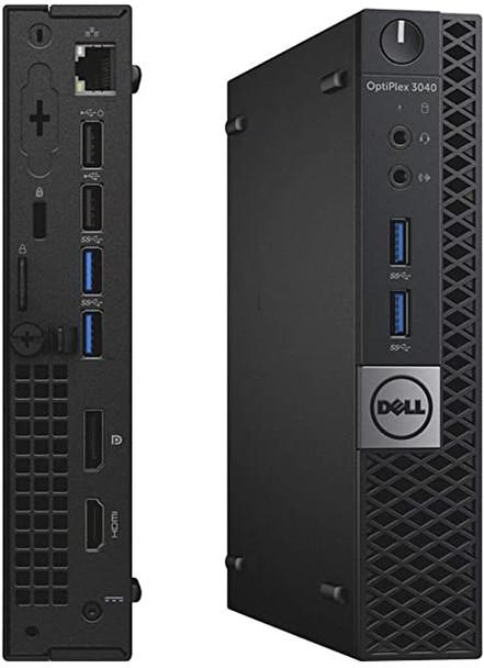 Dell OptiPlex 3040 USFF Micro Desktop - Intel Core i3-6100T 4GB RAM 128GB SSD Ultra Small Form Factor