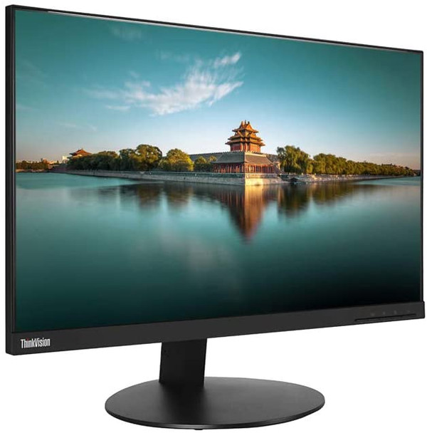 "Lenovo ThinkVision T24i-10 24"" Monitor - Bezel-less LED LCD / IPS Panel HDMI - 1920x1080 Full HD"