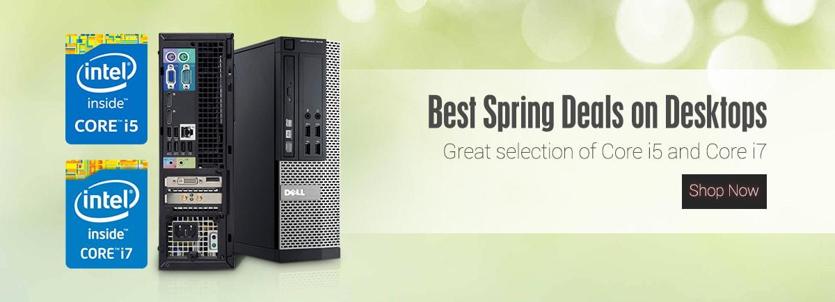 Best spring deals on desktops