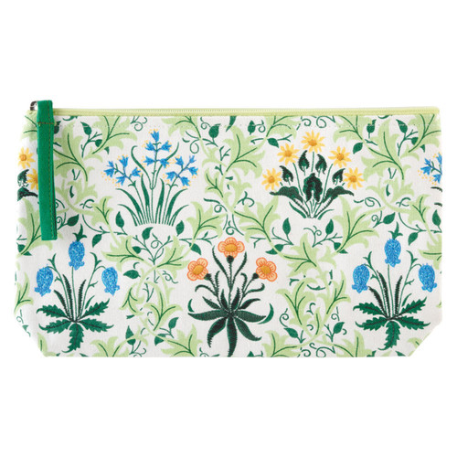 Pouch Embroided Celandine - William Morris