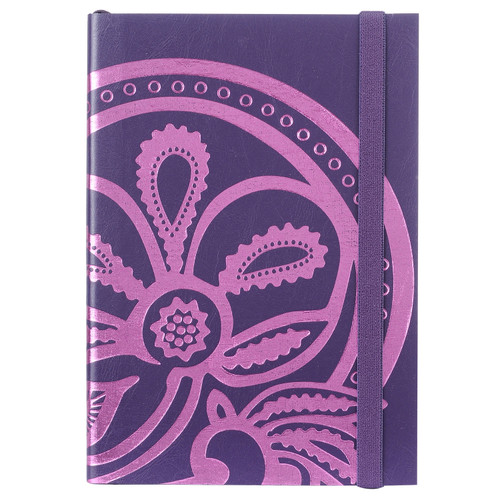 Liberty Tanjore Lotus A5 Embossed Notebook