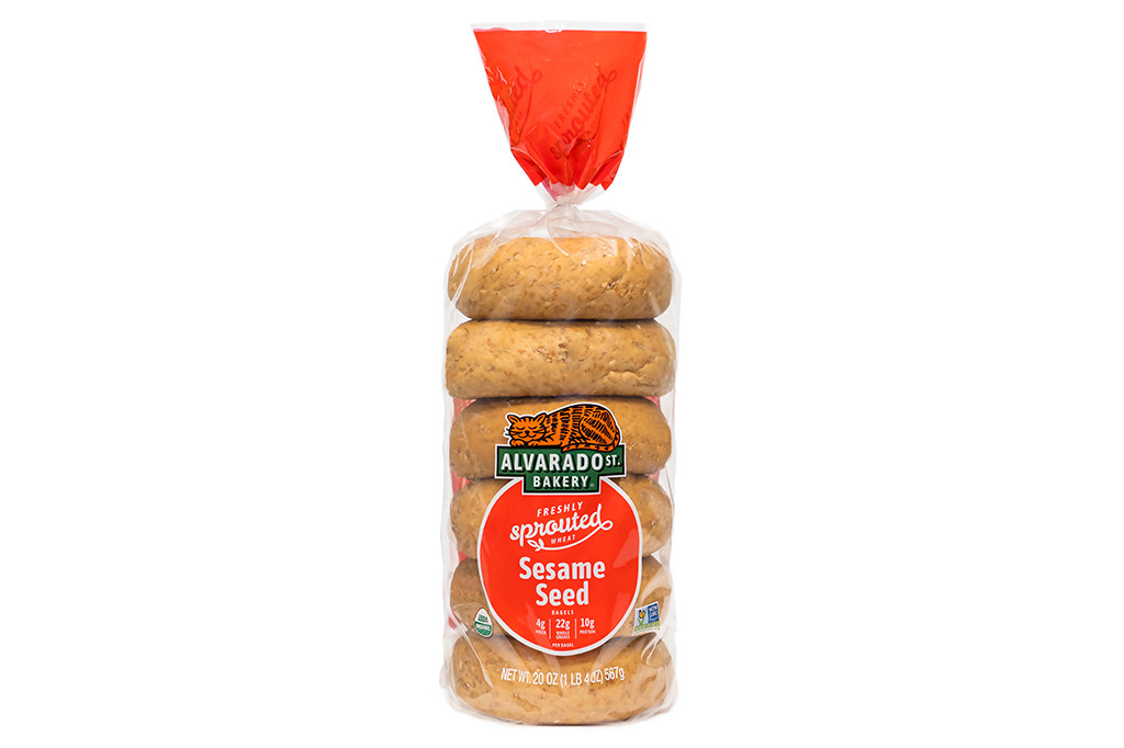 Organic Sesame Bagels
