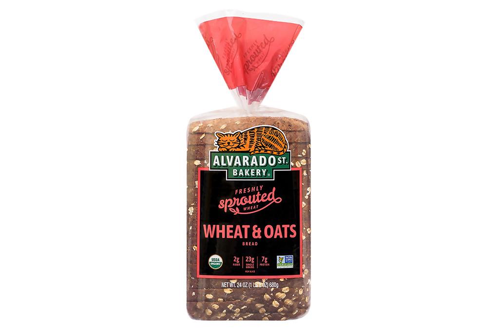 Organic Wheat & Oats Bread - Wide Loaf