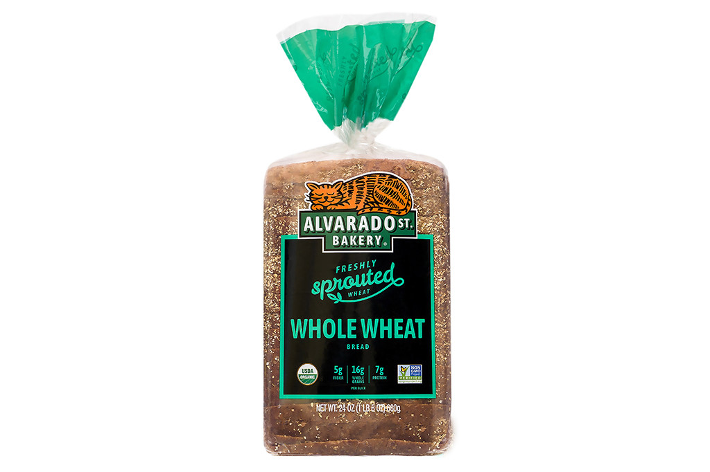 Organic Whole Wheat Bread - Wide Loaf