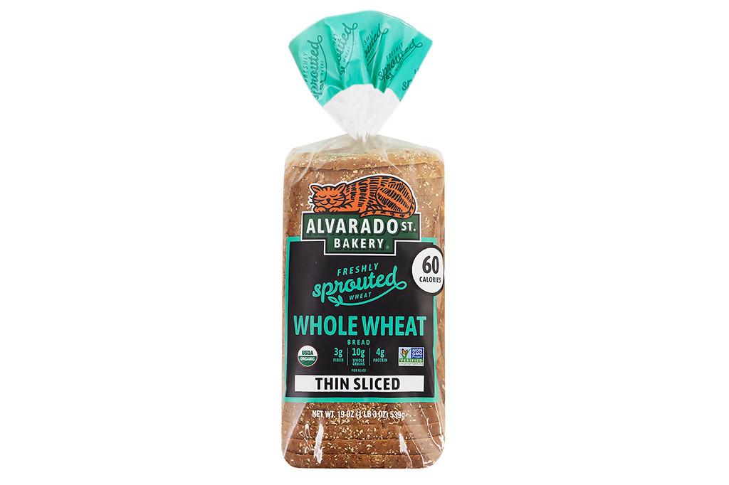 Organic Whole Wheat Bread - Thin-Sliced