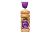 Organic Cinnamon Raisin Bagels