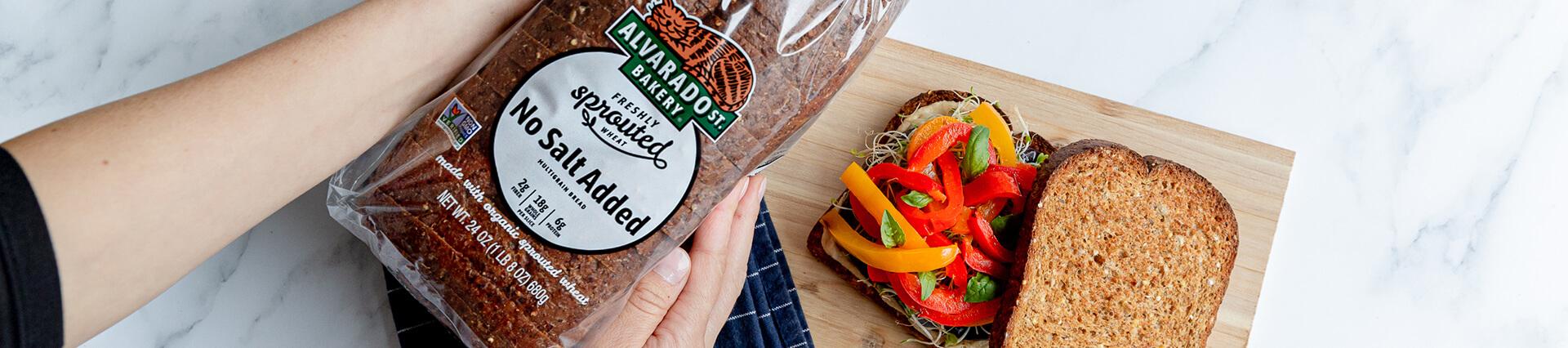 alvarado street bakery no salt added bread
