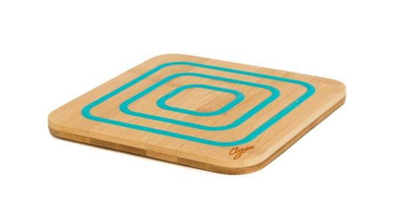 Bamboo Trivet With Silicone London American Supply Stores