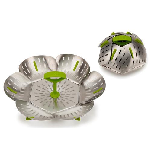 Bloom, Steel, Folding,Steamer Basket