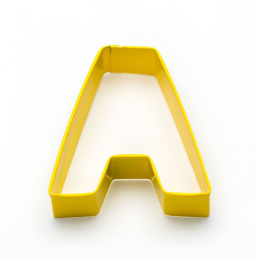 Alphabet, Cookie Cutter, Coated
