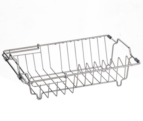 Stainless Steel, Expandable Dish Rack