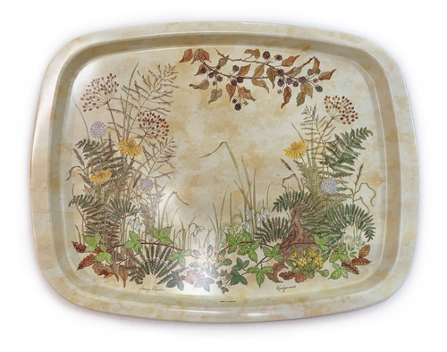Hedgerows, Metal Tray