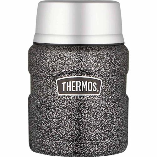 470ml Stainless King™ Vacuum Insulated Food Jar - Hammertone