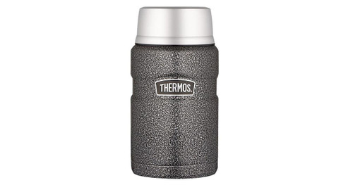 710ml Stainless King™ Vacuum Insulated Food Jar- Hammertone