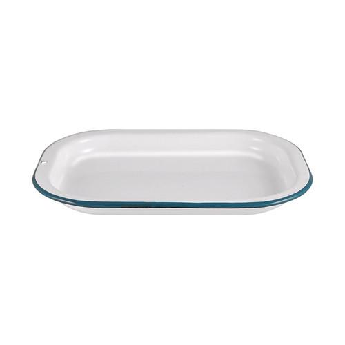 Enamel Sandwich Tray, 21cm