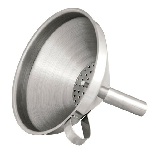 Funnel, 12cm, S/S w Removable Filter