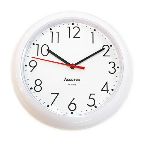 Wall Clock, White