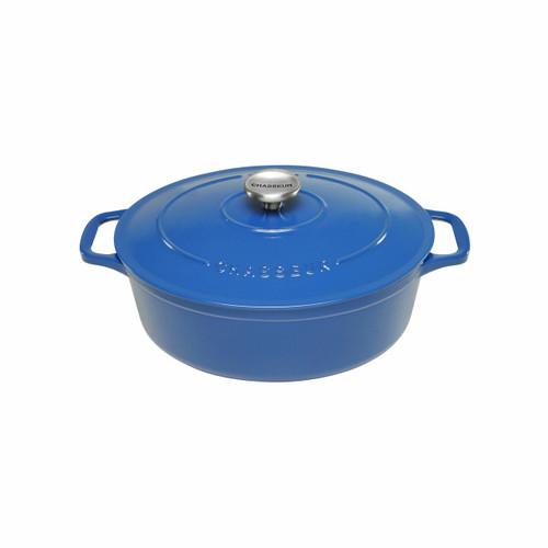 Oval Casserole Dish 31cm Sky Blue